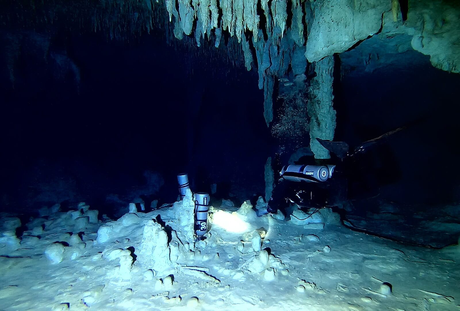 TECHNICAL CAVE DIVER IANTD